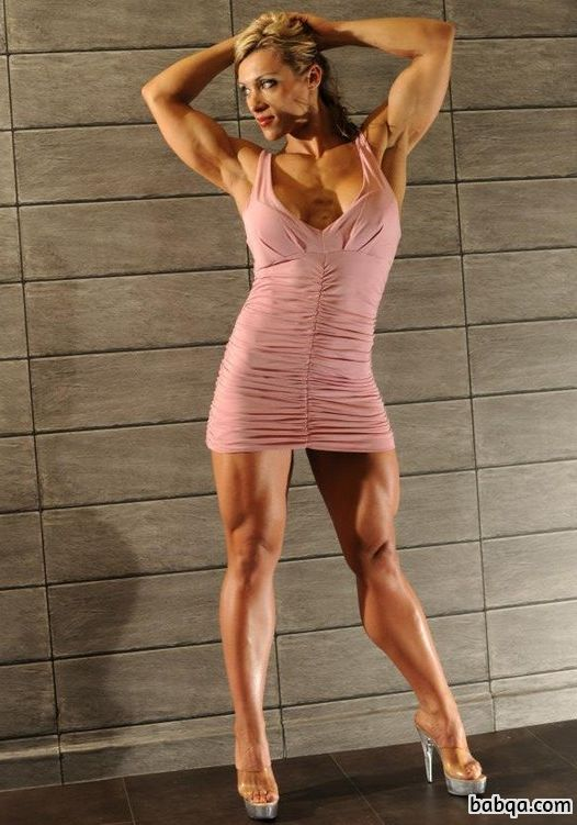 spicy chick with strong body and muscle ass repost from g+