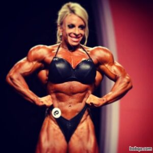 hottest girl with muscle body and muscle biceps repost from instagram