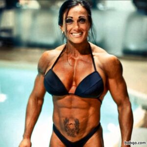 hottest woman with muscular body and toned bottom repost from flickr