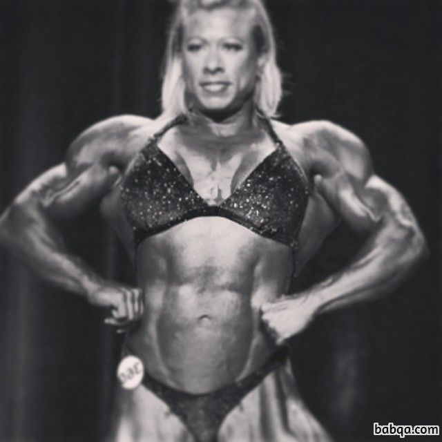 perfect girl with muscle body and toned biceps image from linkedin