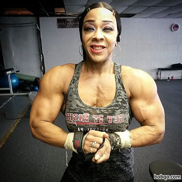 perfect female with fitness body and muscle ass image from reddit