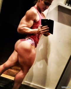 beautiful girl with strong body and toned ass picture from facebook