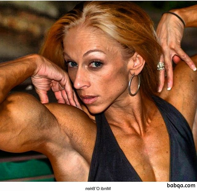 cute lady with strong body and toned arms photo from linkedin