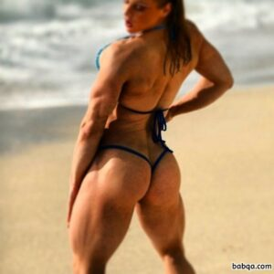 spicy girl with muscular body and muscle bottom image from flickr