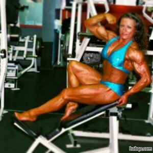 hottest babe with muscular body and toned legs post from linkedin