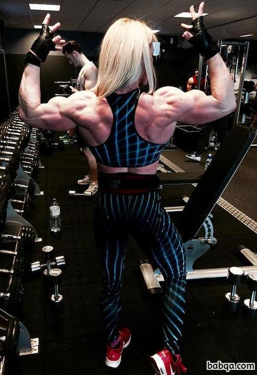 awesome chick with muscular body and toned legs photo from linkedin