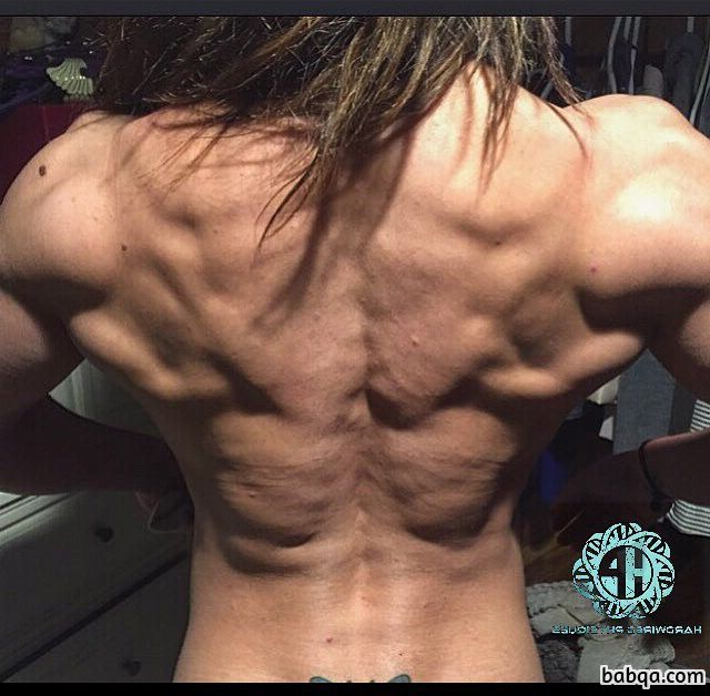 perfect female with muscle body and muscle biceps photo from flickr