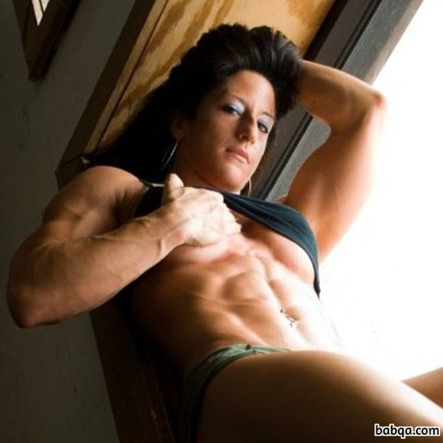 hot female bodybuilder with strong body and muscle ass image from linkedin
