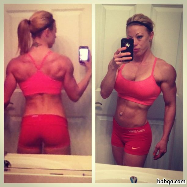 spicy woman with strong body and toned arms post from reddit
