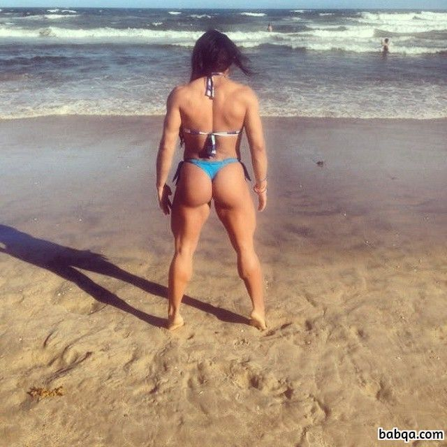 awesome woman with fitness body and toned arms post from tumblr