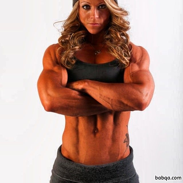 hottest lady with muscular body and muscle bottom post from tumblr