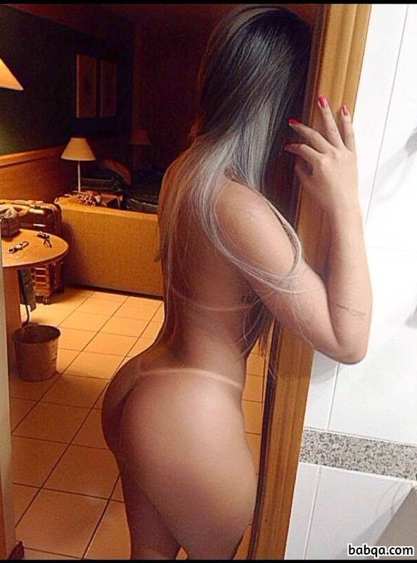 hottest girl with strong body and toned booty post from insta