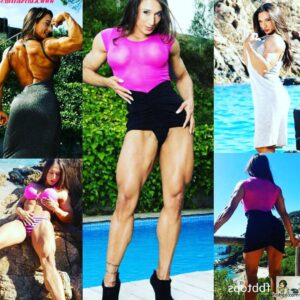 hottest chick with muscle body and toned arms image from linkedin