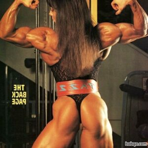 perfect babe with muscular body and muscle bottom image from reddit