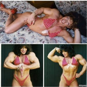 hottest chick with muscle body and muscle bottom picture from reddit