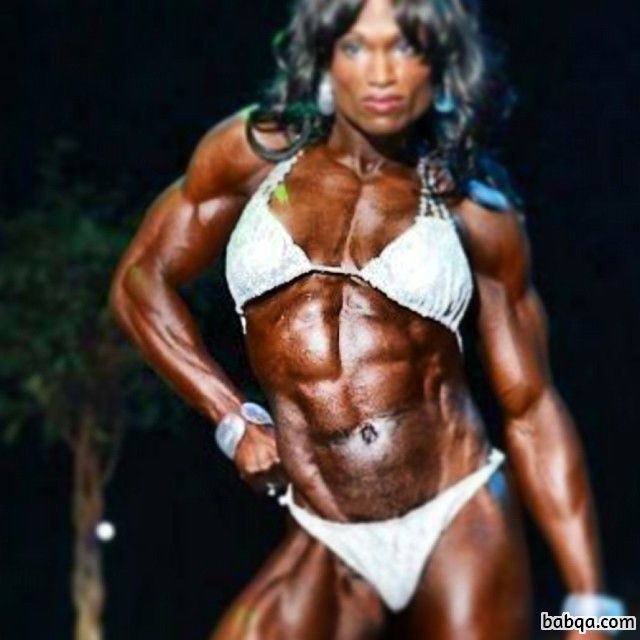 beautiful girl with muscular body and toned biceps picture from facebook