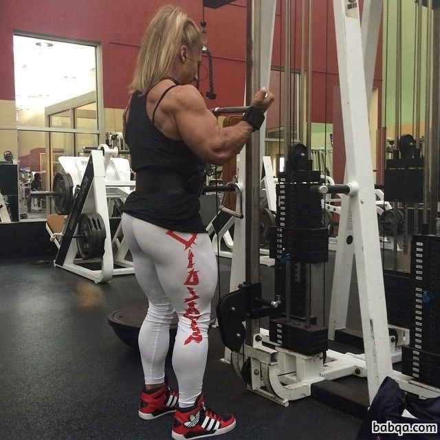 spicy babe with muscular body and muscle biceps repost from linkedin