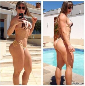 sexy chick with muscle body and toned bottom photo from tumblr