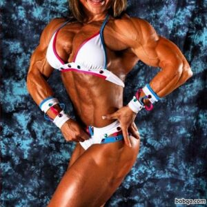 sexy girl with muscle body and toned arms image from flickr