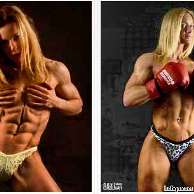 hottest babe with strong body and toned biceps picture from facebook