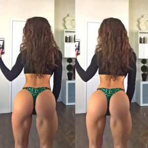 awesome babe with muscle body and toned booty repost from linkedin