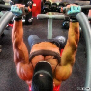 hottest chick with muscle body and toned bottom repost from tumblr