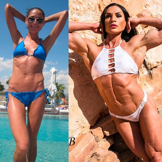 beautiful female bodybuilder with fitness body and toned booty post from flickr