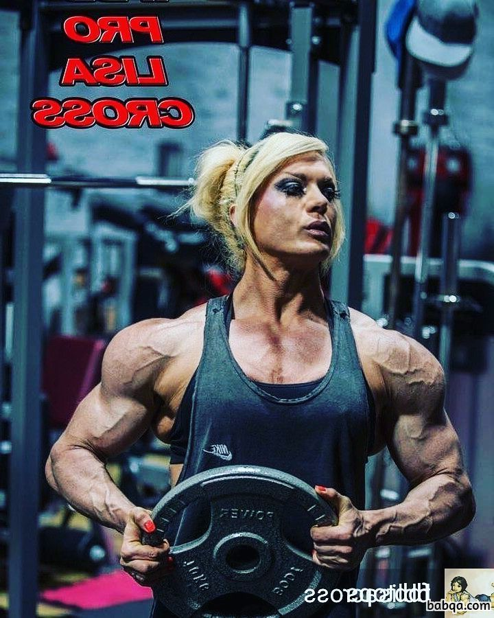awesome female bodybuilder with muscle body and toned bottom picture from insta