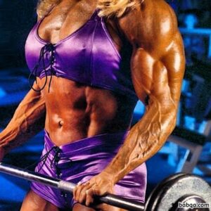 awesome female bodybuilder with fitness body and muscle ass photo from facebook