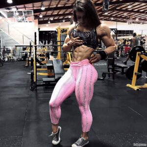 sexy female with muscle body and muscle ass post from tumblr