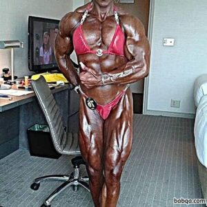hottest chick with strong body and muscle arms post from flickr