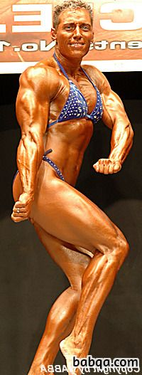 cute female bodybuilder with strong body and toned ass post from flickr
