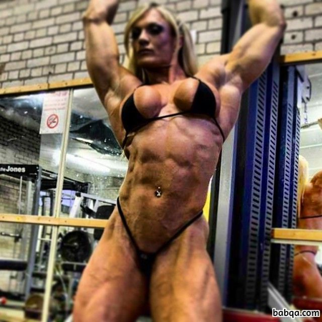 spicy female with strong body and muscle legs image from facebook