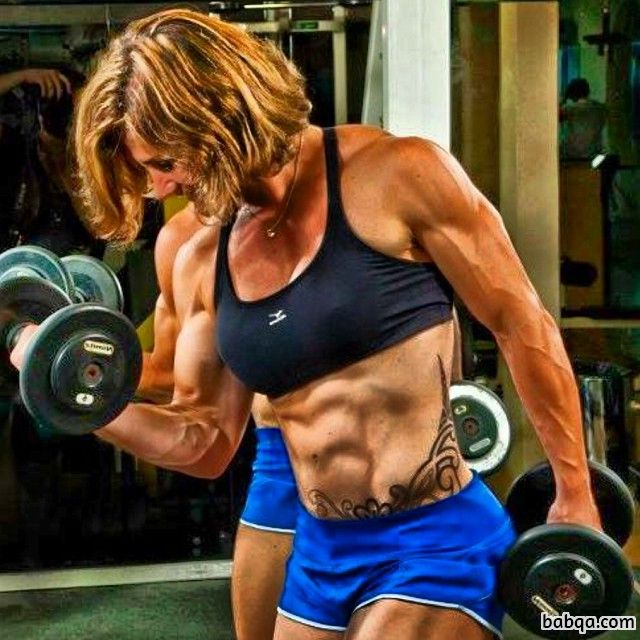 spicy female with fitness body and toned arms picture from reddit