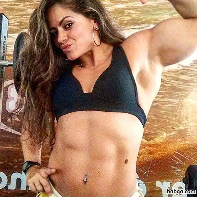 sexy girl with strong body and muscle biceps post from tumblr