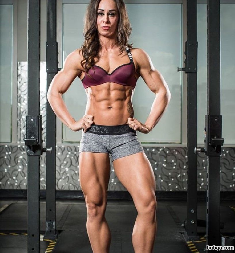awesome female bodybuilder with fitness body and toned bottom picture from tumblr
