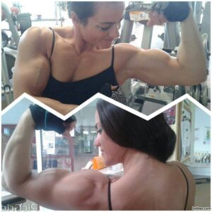 sexy female bodybuilder with muscular body and toned bottom post from flickr