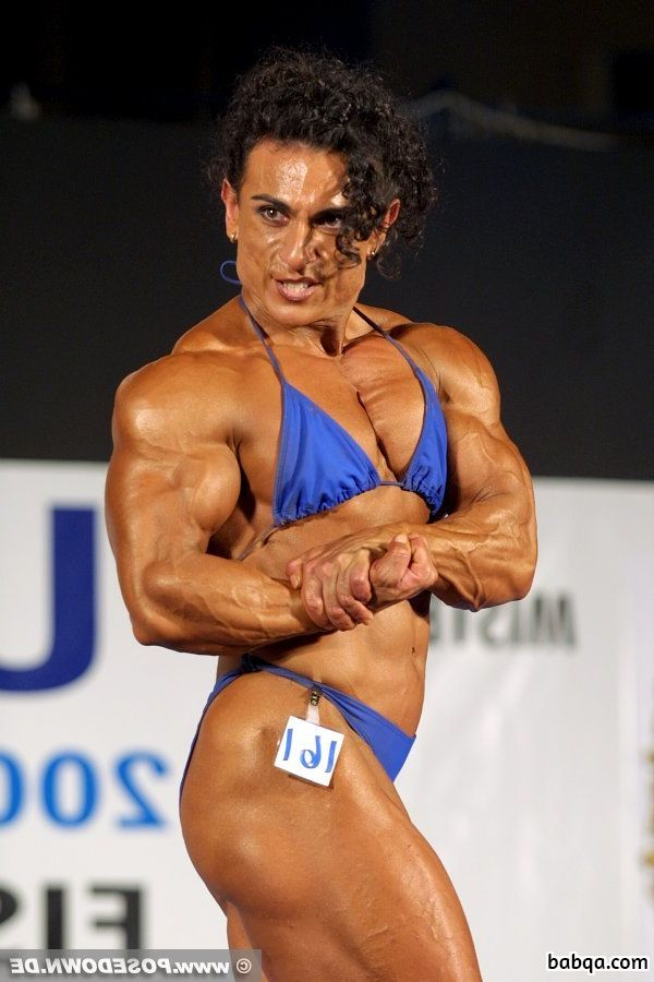 beautiful female bodybuilder with muscular body and toned ass repost from linkedin