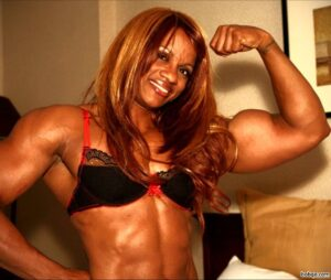 spicy female with muscle body and muscle biceps repost from linkedin