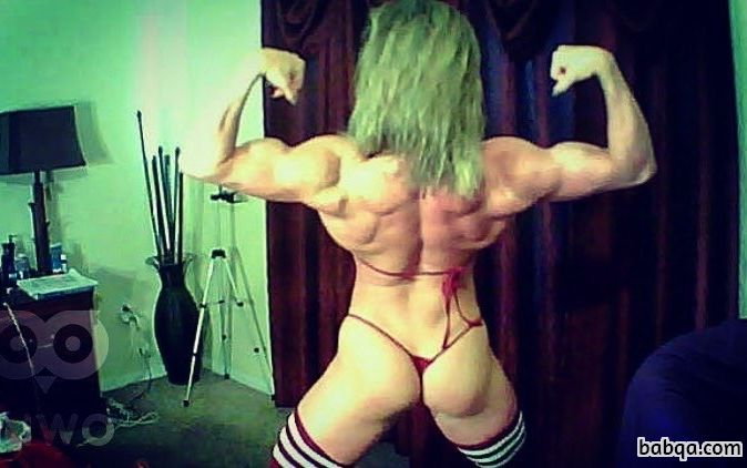 perfect female with strong body and toned biceps repost from tumblr