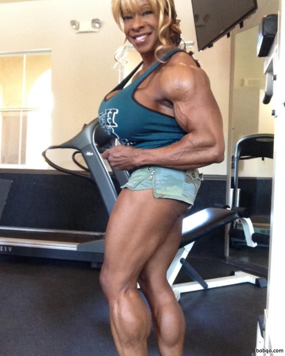 spicy girl with strong body and toned legs pic from facebook