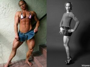beautiful chick with muscle body and toned arms image from reddit
