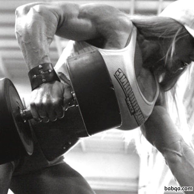 hottest lady with muscle body and muscle biceps post from flickr