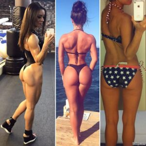 sexy female bodybuilder with strong body and muscle bottom pic from reddit