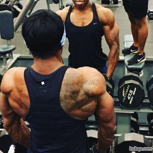 sexy female bodybuilder with muscle body and muscle legs photo from linkedin