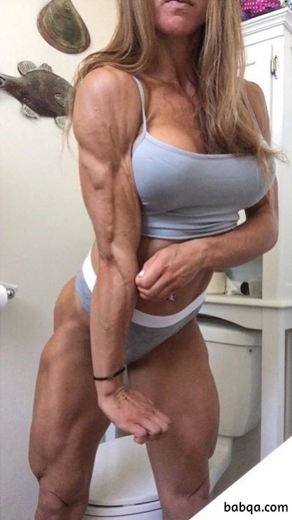 spicy lady with muscle body and toned bottom image from flickr