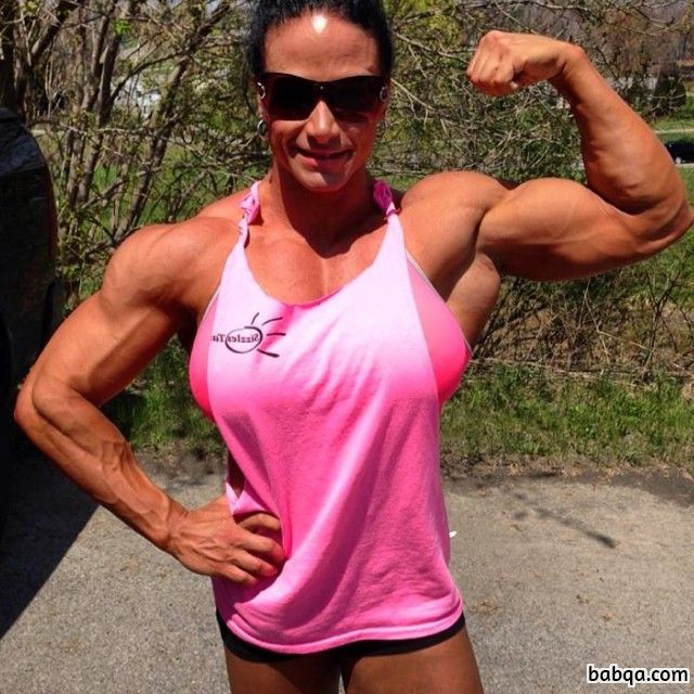beautiful female with muscle body and muscle bottom repost from linkedin