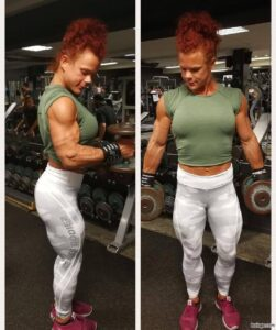 perfect female with muscle body and muscle bottom pic from reddit