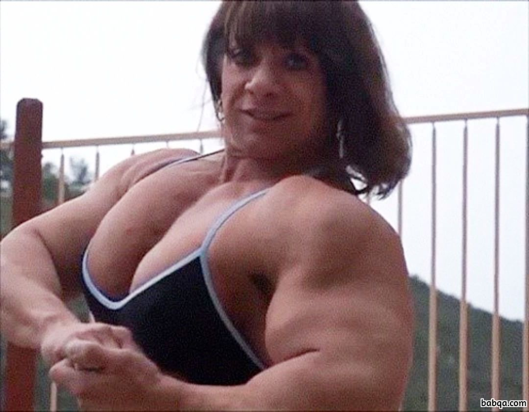 cute female bodybuilder with muscular body and muscle ass image from linkedin