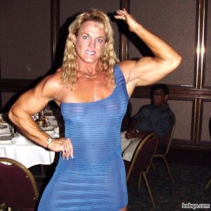 awesome female bodybuilder with muscle body and muscle arms repost from flickr
